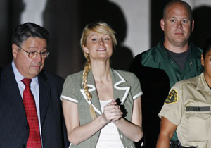 Liberated Paris Hilton, the latest babe up for bid, will dish to Larry King tonight at 9. It's said no money changed hands.