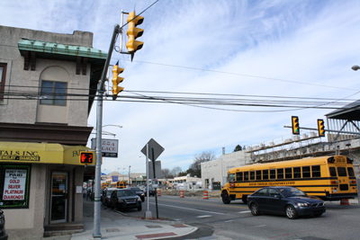 Bartkowski Investment Group, which proposes putting a billboard at 600 Lancaster Ave., says Haverford Township´s exclusion of billboards in its zoning code is unconstitutional. (Ashley Nguyen / Philly.com)