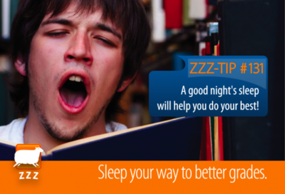 "Columbia University <a href=""https://sleep.health.columbia.edu/send-ecard-friend"" target=""_blank"">posts a series of e-cards with tips</a>  you can send to friends about getting enough sleep."