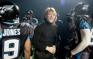 Jon Bon Jovi, rock star and owner of the Philadelphia Soul, which won last year´s championship of the Arena Football  League.