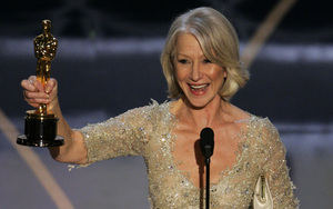 """British actress Helen Mirren accepts the Oscar for best actress for her work in """"The Queen"""" at the 79th annual Academy Awards. She is among the elite that few American actresses can compete with."""