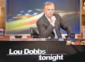 "CNN seven-nighter Lou Dobbs is adding a weekly gig on CBS's ""The Early Show."" ""We want a wide, varied Lou,"" says Steve Friedman."