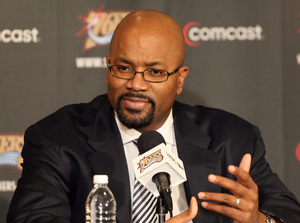 Billy King did not panic as his team floundered before moving Allen Iverson and Chris Webber.