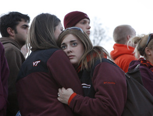 On the campus of Virginia Tech after gunman Cho Seung-Hui killed 32 innocent people - in the inevitable search for answers, the honest truth may be, there are none.