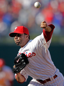 In a rarity, J.C. Romero took the loss yesterday for the Phillies.