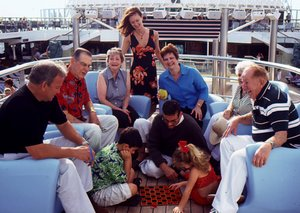 Family members of all ages increasingly find sailing an ideal way to celebrate reunions, anniversaries and holidays.