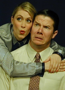 Lauren Keleher and Kristopher Yoder , in roles Marilyn Monroe and Tom Ewell once played.