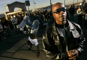 MC Hammer is one of the forces behind DanceJam.com, which hopes to be a hub for sharing and watching dance videos. It debuts midmonth.