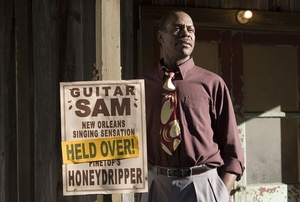 Danny Glover is Pine Top Purvis, proprietor of the Honeydripper lounge, whose future is threatened by a nearby juke joint.