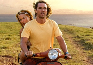 """Matthew McConaughey and Kate Hudson play a couple brought back together by the prospect of finding sunken treasure in """"Fool's Gold."""" Watching them in skimpy beachwear is probably the best thing about the lame adventure-comedy."""