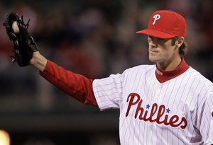 Cole Hamels allowed one run in eight innings last night. He got no help from his offense.