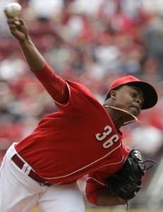 Edinson Volquez, Pitcher, Cincinnati Reds
