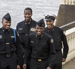 Four Franklin High heros.