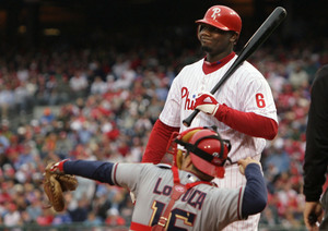 Ryan Howard has been in a terrible slump, but Chase Utley and Pat Burrell have picked him up.