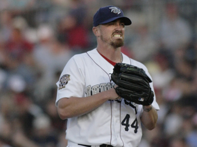 Brett Myers made his IronPigs debut last night, while Pat Burrell helped the Phillies to a 7-3 victory over the Braves.