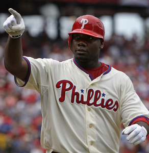 Ryan Howard is leading the majors in home runs and the league in RBIs. Is he an all-star?