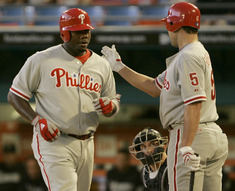 "It seems the only way the Phillies have been able to score runs is home runs. Charlie Manuel called his team´s situational hitting ""off the charts"" bad."