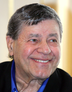 Jerry Lewis, then 82, in a 2008 photo.