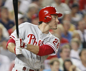 It looks like Chase Utley´s hip is fine. He homered again last night against the Nationals.