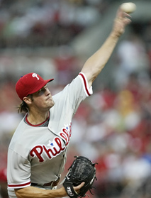 Cole Hamels struggled and the Phillies´ five-game winning streak is snapped.