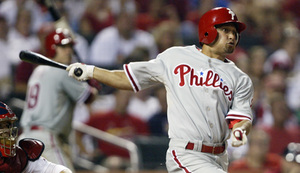 Shane Victorino has hit seven homers in his last 19 games.
