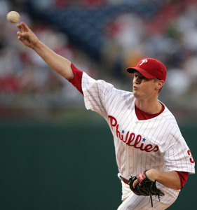 Kyle Kendrick throws six shutout innings last night against the Marlins. Not too shabby.
