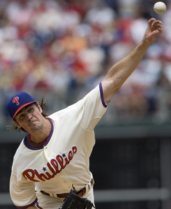 Cole Hamels pitched well, but took the loss because of a lack of run support.