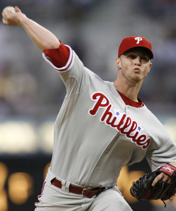 Kyle Kendrick is struggling to find the strike zone, and it´s costing him.