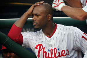 Jimmy Rollins has had a tough year. Tonight could add to that.