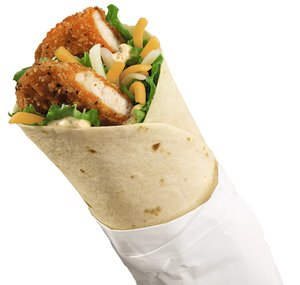 At Burger King, the Spicy Chicken BK Wrapper is on its value menu for $1.39.