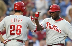 Wasted: Ryan Howard´s two two-run home runs last night against the Nationals.