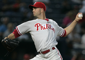 J.A. Happ seemed to earn himself one more start Monday against the Braves.