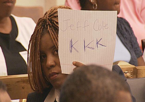 City Council staffer Latrice Bryant sends Fox 29 a message.
