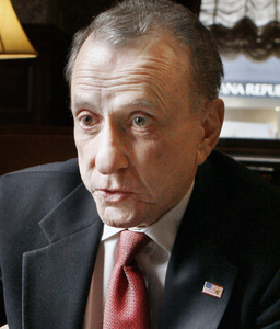 Sen. Arlen Specter would rather attend a news conference than a fire drill.