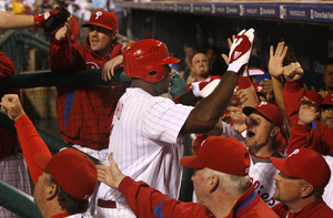 Ryan Howard hits another home run in September. Yawn.