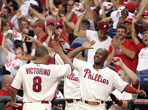 """When you expect a team to win, believe me, that goes a long way,"" Jimmy Rollins said."