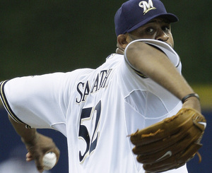 """Whenever they need me, I'll be ready,"" says Milwaukee's ace, CC Sabathia, who is 11-2 with a 1.65 ERA in a half-season."