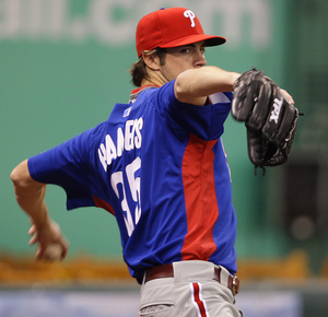 Cole Hamels is ready to rock in Game 1 tonight.