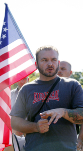 Philadelphian Keith Carney is a member of the Keystone State Skinheads, which he joined soon after it was founded in 2001.
