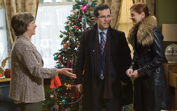 """Elizabeth Peña plays mother to John Leguizamo and mother-in-law to Debra Messing in the unexpectedly moving """"Nothing Like the Holidays."""""""
