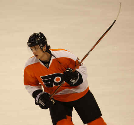 Luca Sbisa has added skill and youthful enthusiasm to Flyers.