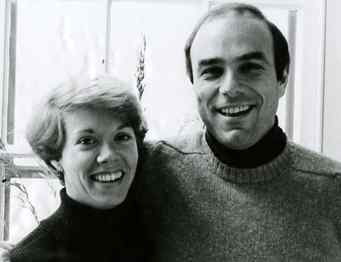 """Marjorie and Ed Rendell as a young married couple. The future judge and governor met at a party he threw as a Villanova law student in 1968. """"She was so striking,"""" he says. They dated, broke up, reunited for good in 1970."""