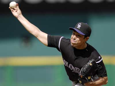 Rodrigo Lopez hasn´t pitched in the major leagues since 2007. (Nick Wass/AP file photo)