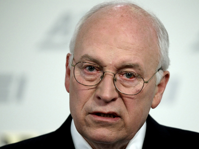 "It turns out that former Vice President Dick Cheney doesn´t like the Justice Department´s decision to investigate whether CIA operatives broke the law while questioning suspected terrorists. ""It offends the hell out of me, frankly,"" he said. (AP Photo/Luis M. Alvarez)"