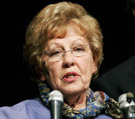 Democratic Sen. Loretta Weinberg.