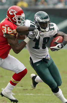 Missing camp time didn´t hurt Jeremy Maclin.