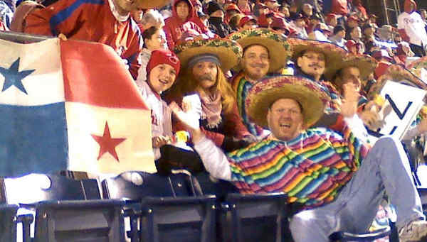 "Carlos ""Chooch"" Ruiz is getting a lot of fan love. Meet Chooch´s Chicos (above), who sport sombreros and the Panamanian flag, and the Chooch-Chooch Train club (left), who tailgate with Panamanian beer."