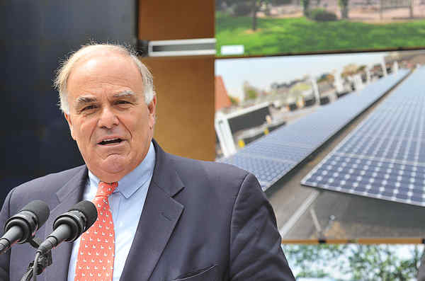 Gov. Rendell wants to clean up Harrisburg.