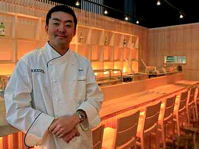 "Hiroyuki ""Zama"" Tanaka at his Zama Japanese restaurant near Rittenhouse Square. (Akira Suwa / Staff Photographer )"