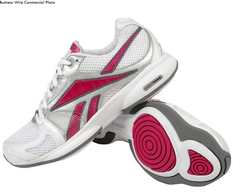 Reebok EasyTone, available at Lady Foot Locker ($99.99) (Photo: Business Wire)
